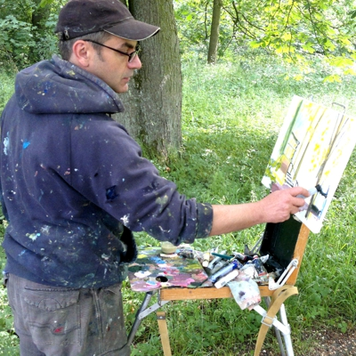 "12. – 27. Mai 2018 ""Sichtweisen""Malerei Internationales Pleinair Berlin-Brandenburg"